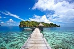 Tempat Wisata Terbaik - Raja Ampat Papua